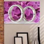 Декоративни панели Vivid Home от 1 част, Люляк, PVC, 35x25 см, №0230
