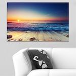 Декоративни панели Vivid Home от 1 част, Пейзаж, PVC, 100x65 см, №0249