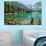 Декоративни панели Vivid Home от 1 част, Пейзаж, PVC, 35x25 см, №0273