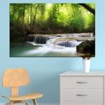 Декоративни панели Vivid Home от 1 част, Природа, PVC, 35x25 см, №0277