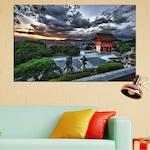 Декоративни панели Vivid Home от 1 част, Природа, PVC, 70x45 см, №0071