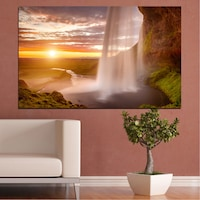 Декоративни панели Vivid Home от 1 част, Природа, PVC, 35x25 см, №0101