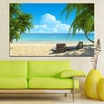 Картини пана Vivid Home от 1 част, Пейзаж, Канава, 150x100 см, №0135