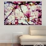 Декоративни панели Vivid Home от 1 част, Цветя, PVC, 35x25 см, №0181