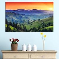 Декоративни панели Vivid Home от 1 част, Природа, PVC, 70x45 см, №0074