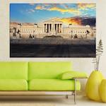 Декоративни панели Vivid Home от 1 част, Забележителност, PVC, 100x65 см, №0103