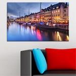Декоративни панели Vivid Home от 1 част, Вода, PVC, 100x65 см, №0117
