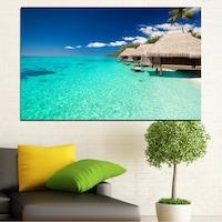 Картини пана Vivid Home от 1 част, Залив, Канава, 100x65 см, №0136