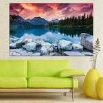 Картини пана Vivid Home от 1 част, Природа, Канава, 70x45 см, №0155