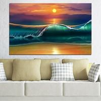 Картини пана Vivid Home от 1 част, Колаж, Канава, 100x65 см, №0341