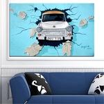 Декоративни панели Vivid Home от 1 част, Колаж, PVC, 70x45 см, №0612