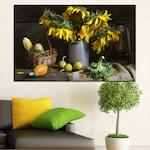 Картини пана Vivid Home от 1 част, Цветя, Канава, 35x25 см, №0620