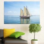 Декоративни панели Vivid Home от 1 част, Море, PVC, 35x25 см, №0633