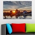Декоративни панели Vivid Home от 1 част, Вода, PVC, 70x45 см, №0542