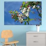 Декоративни панели Vivid Home от 1 част, Цветя, PVC, 35x25 см, №0578