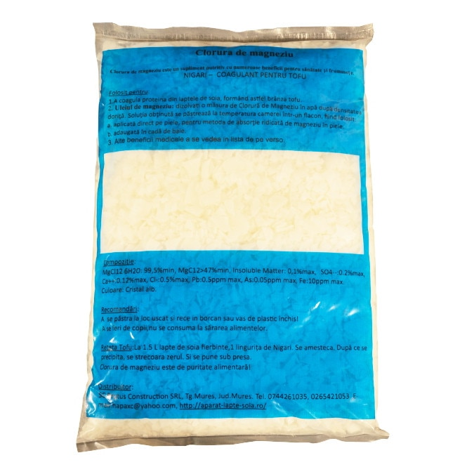 Sare nigari (clorura de magneziu) g