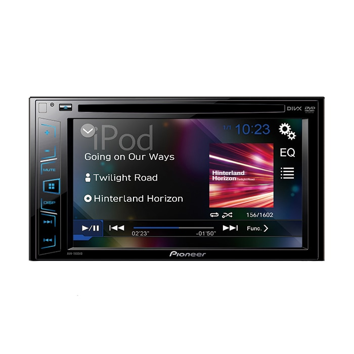"Fotografie Multimedia player auto Pioneer AVH-190DVD, 2DIN, 6.2"" Touchscreen, 4x50W, USB, AUX, iPod direct control"