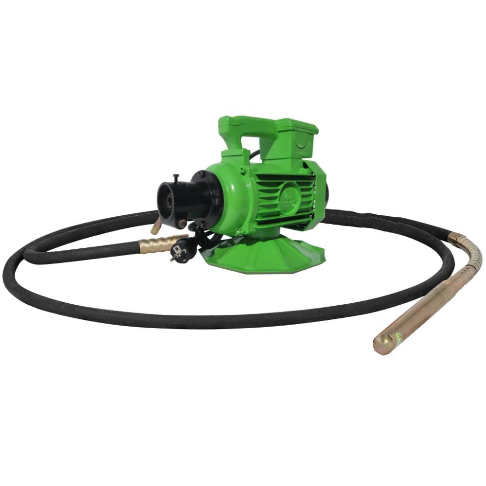 Fotografie Motor vibrator electric Velt ZN 50 pentru beton, 1500 W, 9.4 A, 230 V + Lance 50mm x 6m