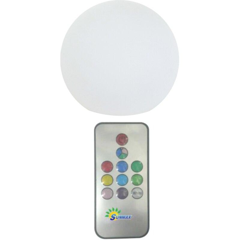 Fotografie Lampa solara Flink, glob cu telecomanda, 600mAh