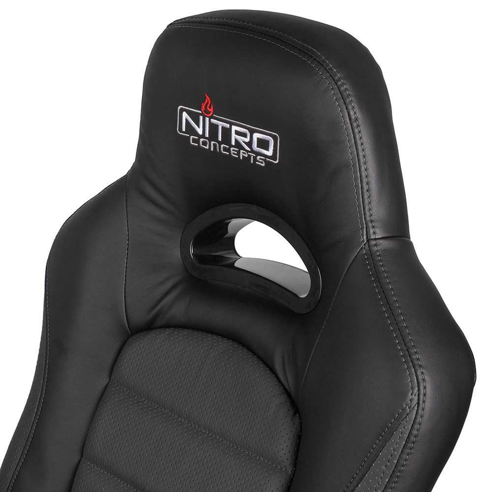 NITRO CONCEPTS C80 Pure Gaming Chair fekete fehér iPon