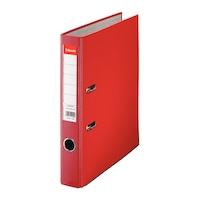 Biblioraft Esselte Economy, rosu, A4, 50mm, PP exterior, carton interior