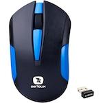 Безжична мишка Serioux Drago 300, USB, Синя