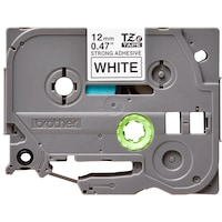 Etichete Brother TZES231 Tape, 12 mm, Black on White Adhesive