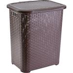 Heinner Care Szennyeskosár, Rattan műanyag, 45 L, Barna