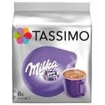 Capsule ciocolata calda, Jacobs Tassimo Milka, 8 bauturi x 225 ml, 8 capsule