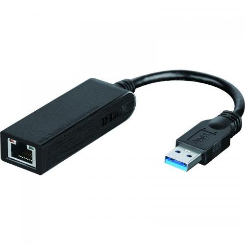 Fotografie Placa de retea Gigabit D-link DUB-1312, USB 3.0