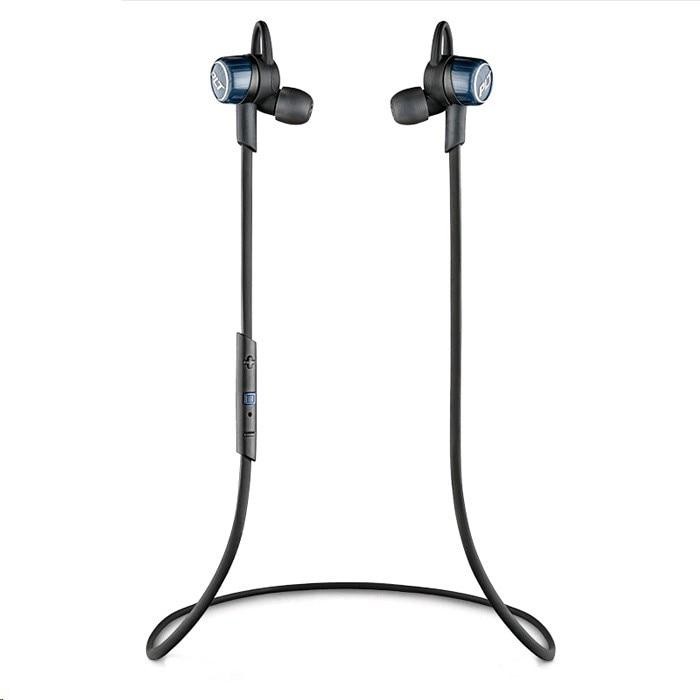 Plantronics Backbeat Go3 headset, Bluetooth, Cobalt Blue/Black 5qJvT5