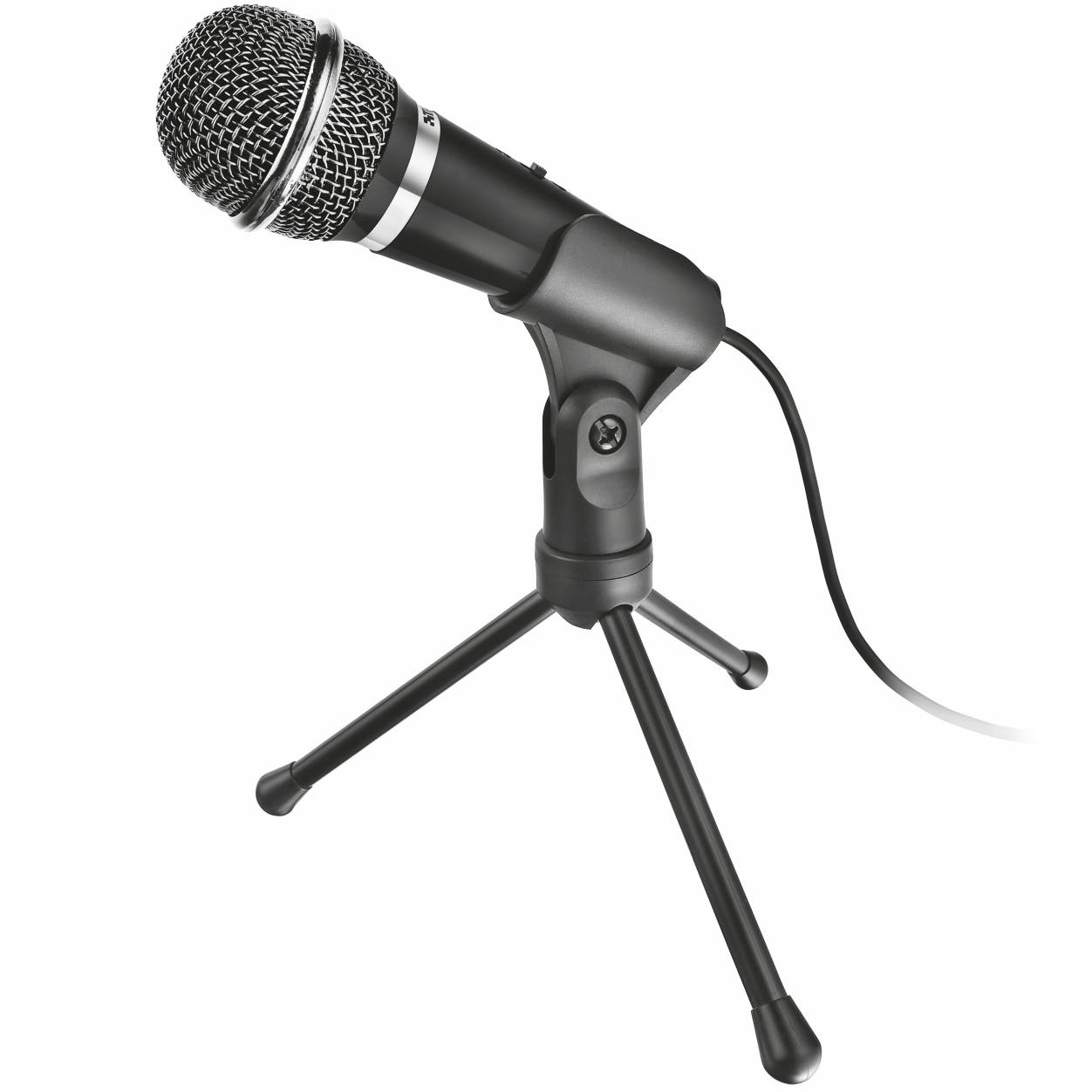 Fotografie Microfon Trust Starzz All-round mini, Negru