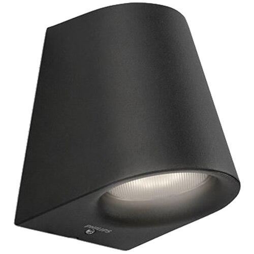 Fotografie Aplica de exterior Philips myGarden Virga, LED integrat 1x3W, neagra