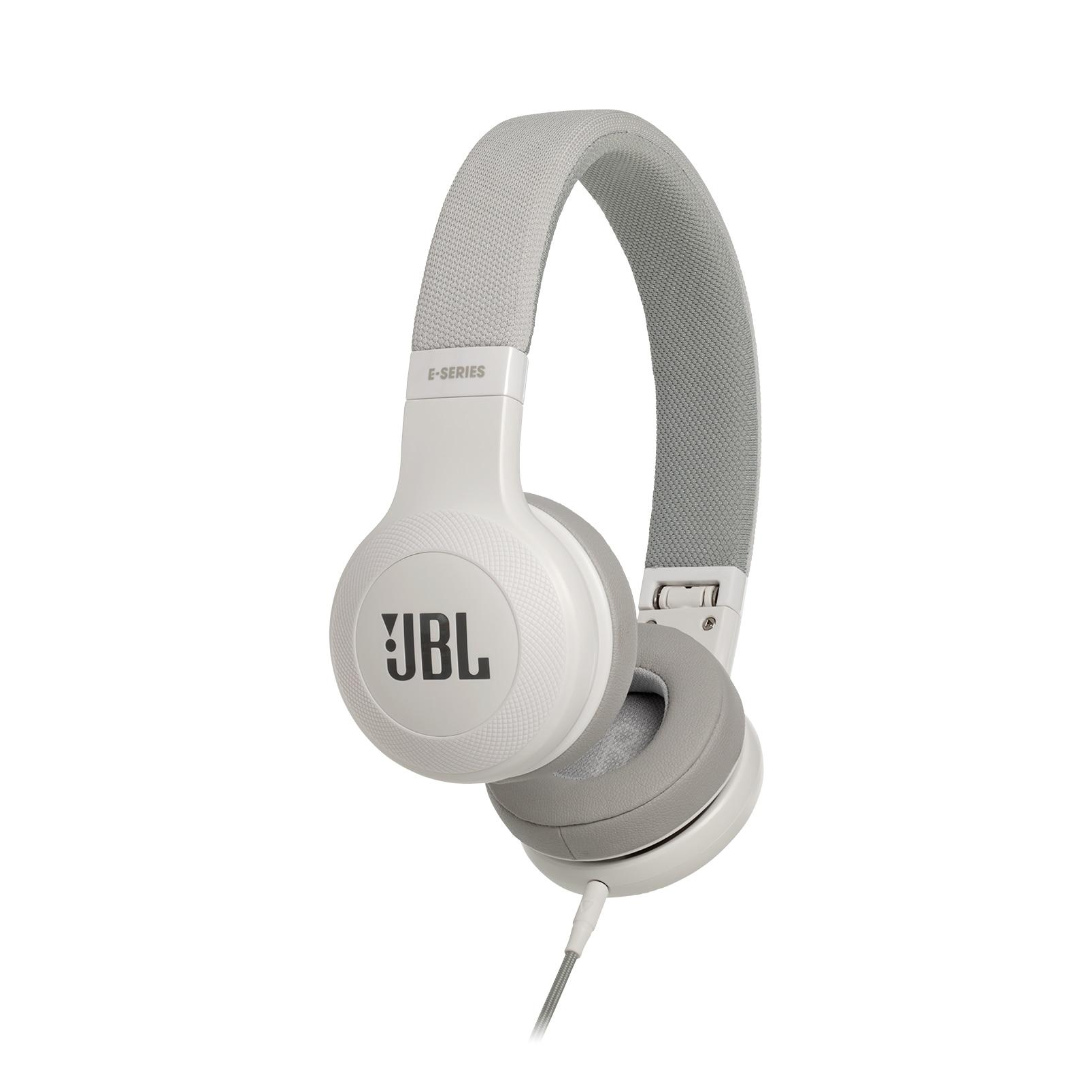 Fotografie Casti audio on-ear cu microfon JBL E35, White