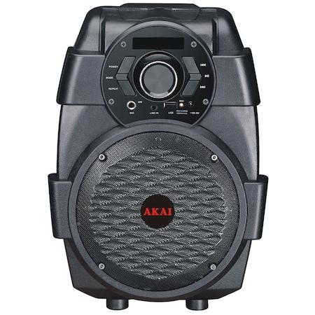 Преносима тонколона AKAI ABTS-806, Bluetooth, Черна