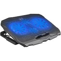 "White Shark CP-25 ICE WARRIOR laptop hűtő, 17.3"", 4 ventillátor"