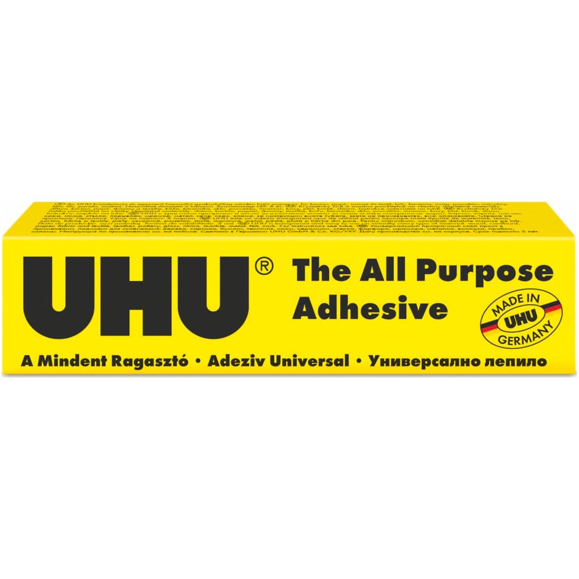 frumos ieftin Regatul Unit magazin de vânzare Adeziv universal Uhu, 35ml - eMAG.ro