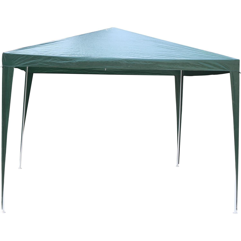 Fotografie Pavilion impermeabil Kring cu protectie UV pentru gradina/terasa/curte, 290x290x245, poliester, verde