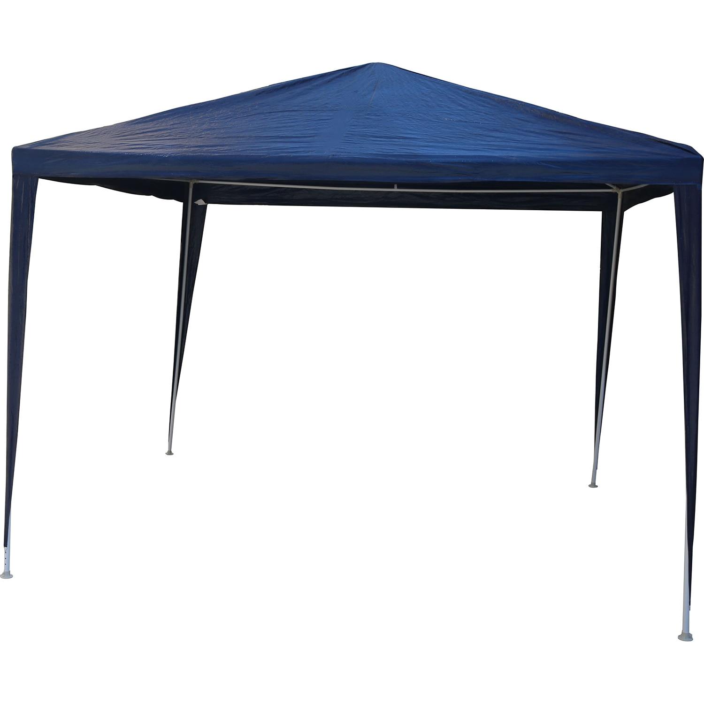 Fotografie Pavilion impermeabil Kring cu protectie UV pentru gradina/terasa/curte, 290x290x245, poliester, albastru