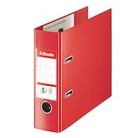 Biblioraft Esselte No. 1 Power pentru banci, PP/PP, 75mm, VIVIDA rosu