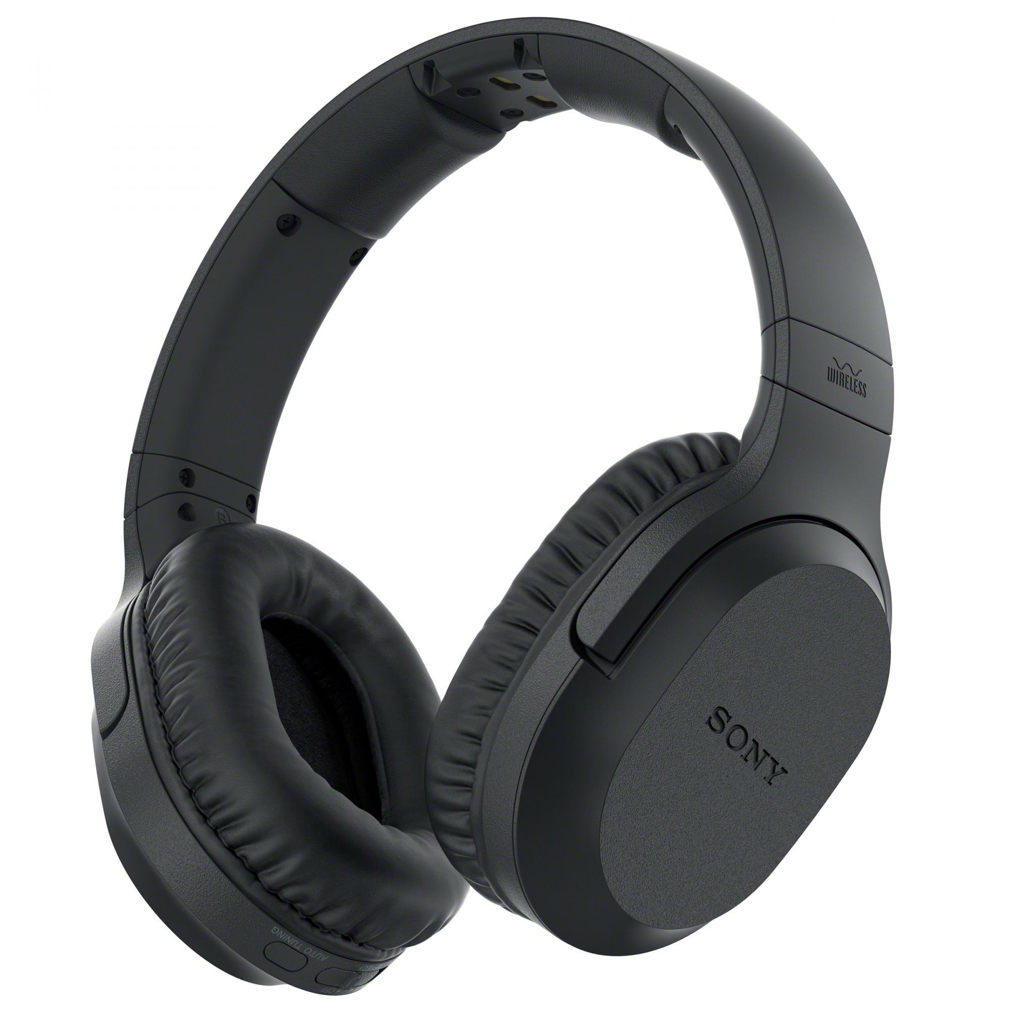 Fotografie Casti On Ear Sony MDRRF895RK.EU8, Wireless, Bluetooth,