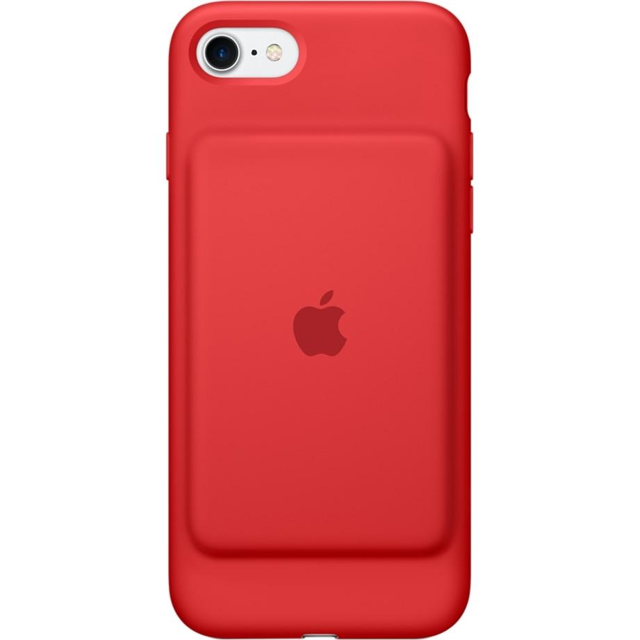 Fotografie Husa de protectie cu baterie Apple Smart Battery Case pentru iPhone 8 / iPhone 7, Red