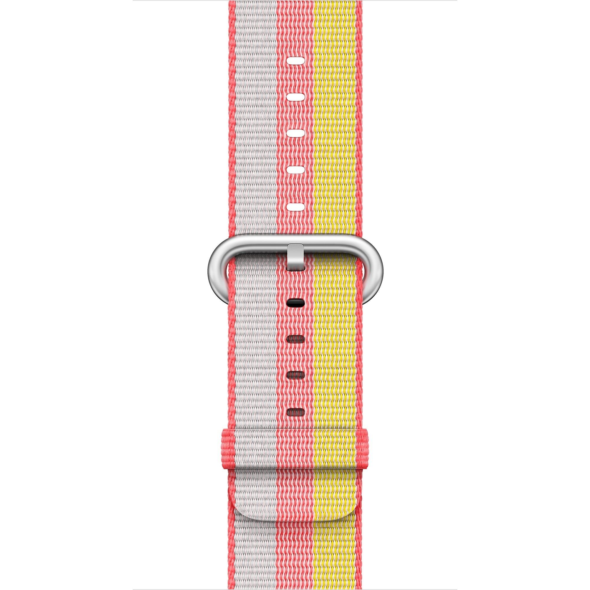 Fotografie Curea pentru Apple Watch 38 / 40mm, Woven Strap, Nylon, Red
