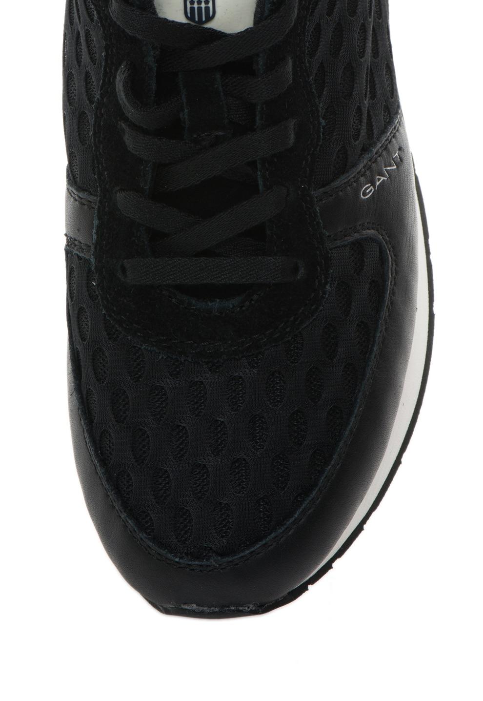 Gant Linda Fekete&Ezüstszín Cipő 40