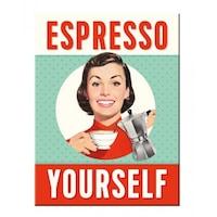 Magnet frigider - Espresso Yourself 6x8cm