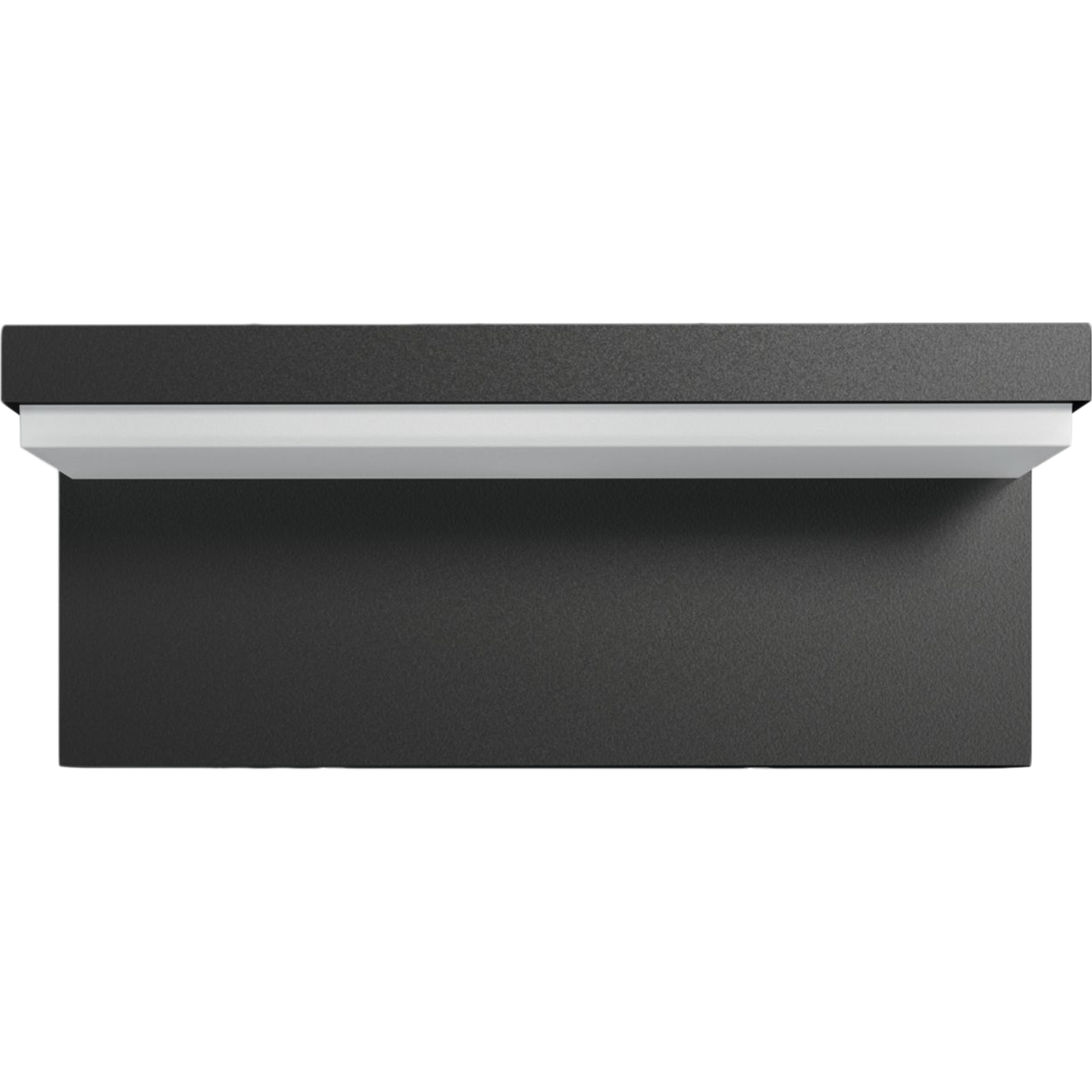 Fotografie Aplica LED integrat pentru exterior Philips myGarden Bustan, 2x4.5W, 4000K, IP44, Gri inchis