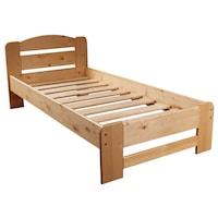 pat din lemn masiv la comanda