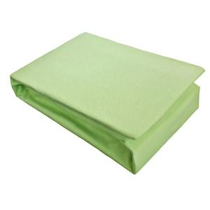 Husa de pat Home Still, 160x200 cm + 2 fete de perna Home Still, 50x70 cm Jersey, bumbac, Verde