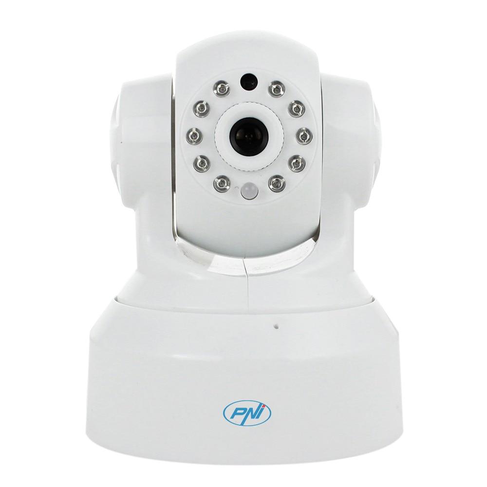 Fotografie Camera supraveghere PNI SmartHome SM460 pan & tilt 720p controlabila prin internet, inregistreaza foto-video pe telefon
