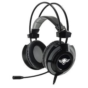 Spirit of Gamer MIC-EH70BK Gaming mikrofonos fejhallgató, 7.1, USB, hangerőszabályzó, Fekete